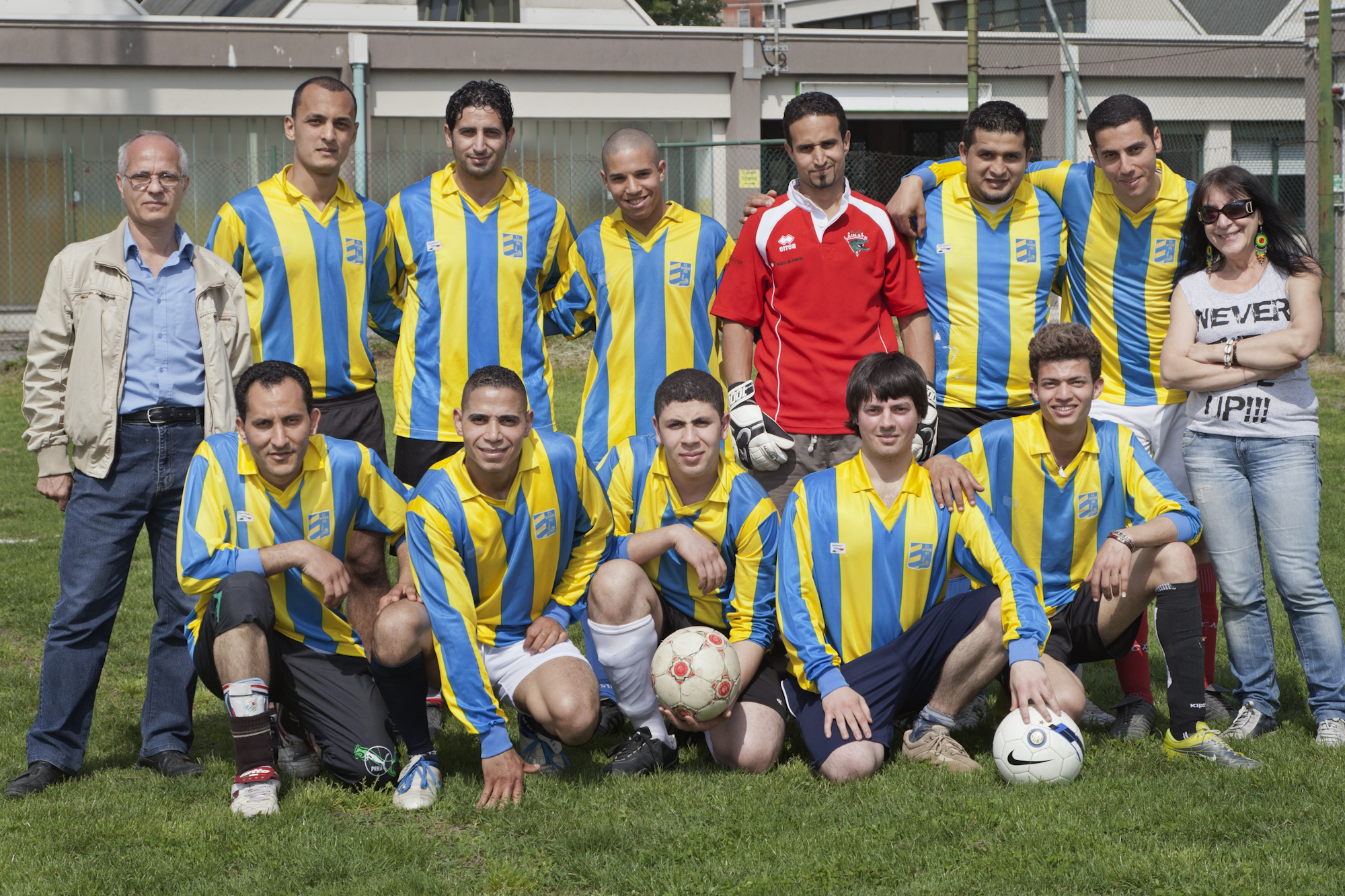 2013 - torneo di calcio con la Rete Scuole Senza Permesso
